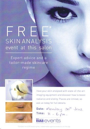 Environ Skin Care Analysis Event - Beauty Clinic