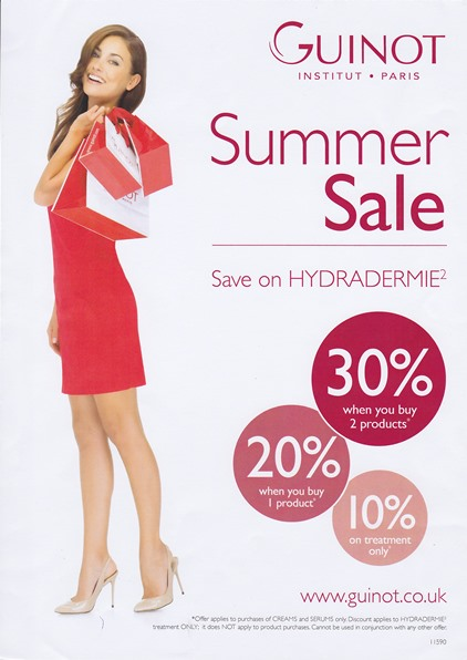 Guinot September Sale - Hydradermie
